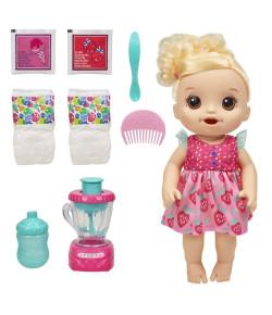 Boneca Baby Alive Hasbro Misturinha Vitamina de Diversão Loira 3+