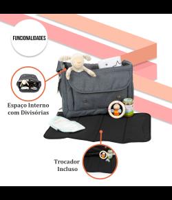 Bolsa Maternidade ABC Design Fashion Bag Mountain