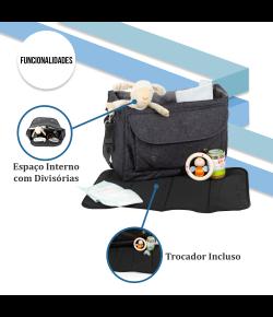 Bolsa Maternidade ABC Design Fashion Bag Style Street - 91300702