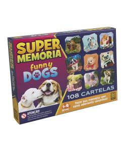Jogo de Mesa Super Memoria Funny Dogs - Grow