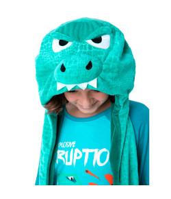 Gorro Pelucia Teen Dino Vulcão Puket Verde INV21 050500164