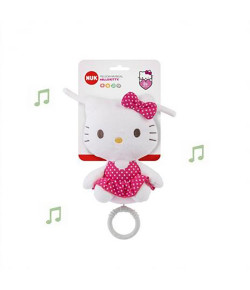 Pelúcia Musical Nuk Hello Kitty 0m+ - PA790594-UU