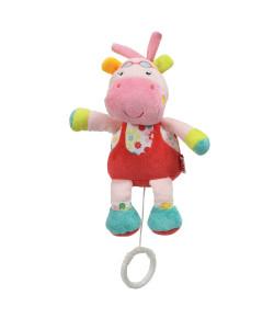 Pelúcia Musical Nuk Toy Hipopótamo Rosa 0m+ - PA790577-UU