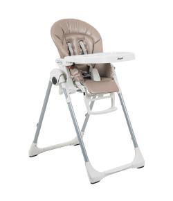 Cadeira de Refeição Burigotto Prima Pappa Zero 3 Cappuccino - IXCR6006GL50