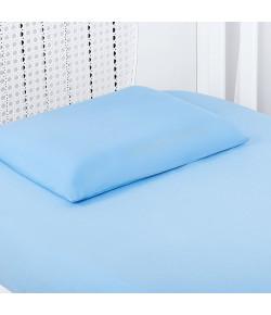 Jogo de Lençol Para Berço Batistela Baby Azul 2 Peças - 02503