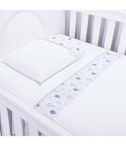 Jogo de Lençol Para Berço Batistela Baby Floresta 3 Peças - 02035