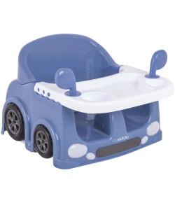 Assento Portátil Para Alimentação Lenox Kiddo Drive Azul - 1047AZ