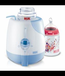 Aquecedor Elétrico Nuk p/ Mamadeiras e Alimentos Infantis Branco/Azul - 110V