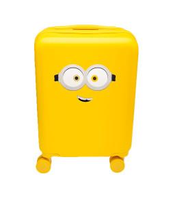 Mala com Adesivo Minions Puket INV21 Amarelo 100400322