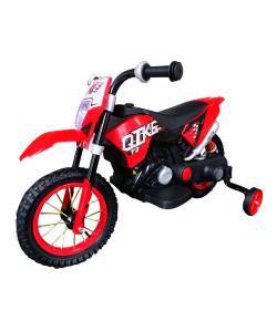Mini Moto Cross Elétrica Vermelha