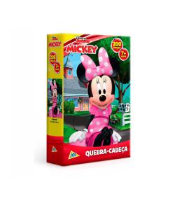 Quebra-Cabeça Toyster Minnie Mouse 200 Peças