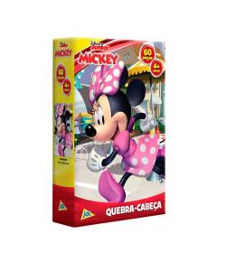 Quebra-Cabeça Toyster Minnie Mouse 60 Peças