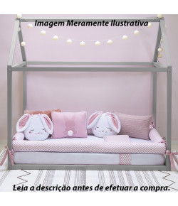 Kit Montessoriano Batistela Baby 7 Peças Coelha - 10091
