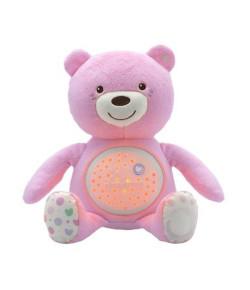 Projetor Chicco Bebê Urso Rosa