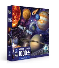 Quebra-Cabeça Toyster Viagem Cósmica 1000 Peças 10+
