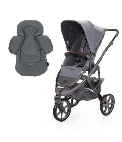 Carrinho de Bebê ABC Design Salsa 3 + Confort Seat Liner Mountain