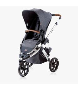 Carrinho de Bebê Salsa 3 ABC Design Asphalt Diamond  6 Meses a 15kg