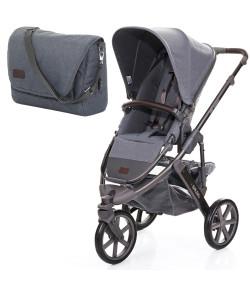 Carrinho de Bebê ABC Design Salsa 3 + Fashion Bag Mountain
