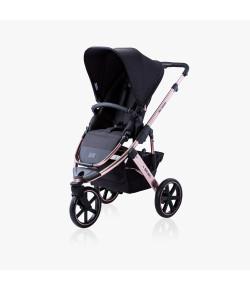 Carrinho de Bebê Salsa 3 ABC Design Rose Gold 6 Meses a 15kg