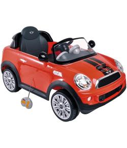 Carro Controle Remoto Elétrico Mini Cooper Vermelho Lenox Kiddo - 7003