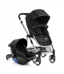 Carrinho de Bebê Travel System Epic Lite Duo Infanti Onyx