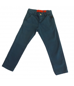 CALCA COLLOR SATIN B/FACA ELLUS KIDS AZUL