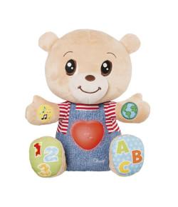 Urso de Pelúcia Chicco Teddy O Ursinho Das Emoções Bilíngue
