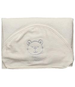 Toalha de Banho Hug Little Dreamer Off White e Azul - E11415