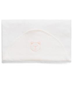Toalha de Banho Hug Little Dreamer Off White e Rosa - E11415