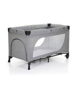 Berço Desmontável ABC Design Moonlight Woven Grey