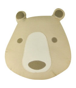 Almofada Infantil Urso Lala Lipe Bege - AL0405