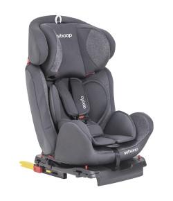 Cadeira Auto Isofix Lenox Whoop Apollo Grafite 0 a 36kg - 8102AGR